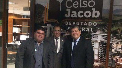 Vereador Clecinho busca recursos em Brasília