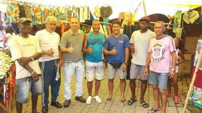 Vereador Fabiano Oliveira visita Comércio Popular