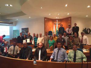 Câmara de Vereadores homenageia Clube Rotary pelos 112 anos de serviços prestados