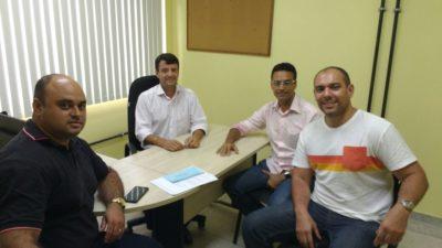 Presidente da Comissão de Saúde da Câmara de Vereadores de Três Rios participa de reunião com secretário de Saúde