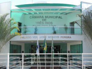 Câmara de Vereadores de Três Rios retoma atividades nesta quinta-feira