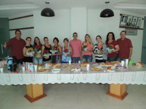 Funcionárias da CMTR participam de Café em comemoração ao dia internacional da mulher