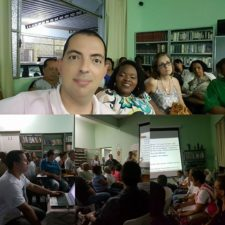 Vereadores participam de encontro na Igreja São José Operário