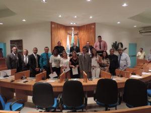 Câmara de Vereadores homenageia equipe de Unidade Básica de Saúde pelos serviços prestados