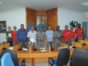 Bombeiros Civis participam de reunião na Câmara de Vereadores