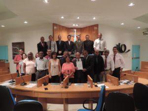 Pastor Miracyr Borges recebe moção de aplausos na Câmara de Vereadores de Três Rios