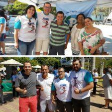 Vereadores participam na manhã de sábado de evento de conscientização contra o Aedes