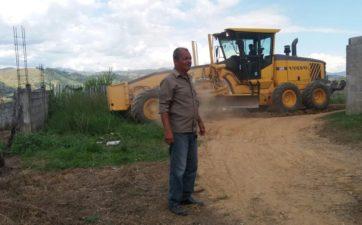 Telmo Cardoso agradece melhorias no bairro Pilões