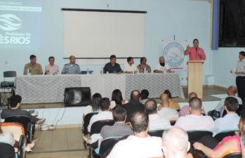 Presidente da Comissão de Política Antidrogas da Câmara Municipal participa de lançamento de Programa Três Rios de mãos dadas contra as drogas