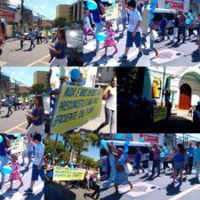 Vereador Luiz Alberto participa de caminhada de conscientização do autismo