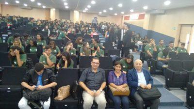 Luiz Alberto comemora junto com equipe do Ciee os 16 anos da unidade em Três Rios