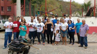 Juarez da Saúde participa de ação de combate ao aedes aegypti no Vila Nova