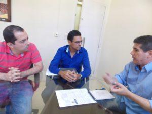 Vereadores visitam a Câmara de Volta Redonda