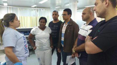 Vereadores realizam vistoria na Unidade de Pronto Atendimento Três Rios