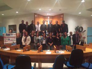 Fiscais municipais e professores estaduais na Câmara de Vereadores