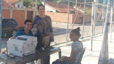CAC Três Rios presta serviço no Programa Bolsa Família Itinerante no Habitat