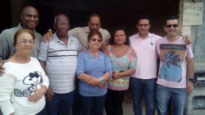 Vereadores participam de eleição da Associação de Moradores do Morro dos Caetanos
