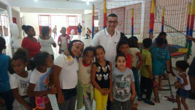 Nilcélio Sá participa de atividade de conscientização contra abuso infantil