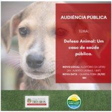 Câmara de Vereadores de Três Rios realiza audiência que trata da defesa animal