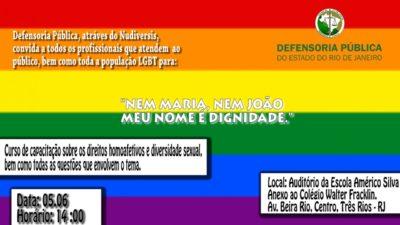 Defensoria Pública realiza encontro para debater direitos da população LGBT