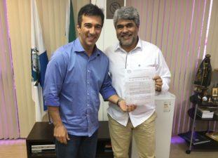 Presidente do Detran, Vinícius Farah, vai atender solicitação do vereador Robson Souza e implantar Posto de Vistoria no município