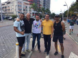 Vereadores prestigiam Três Rios em Movimento