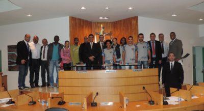 Jovens acompanham sessão ordinária da Câmara de Vereadores