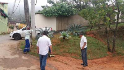 Telmo Cardoso consegue implantação de jardim na Ponte das Garças