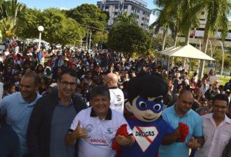 Vereadores participam de lançamento do Programa Municipal Três Rios de Mãos Dadas Contra das Drogas