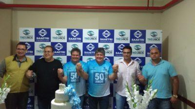 Vereadores participam de festividade em homenagem aos 50 anos do Saaetri