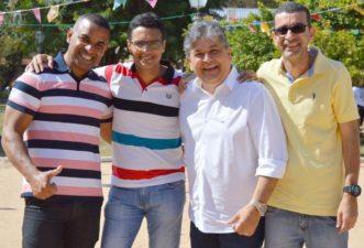 Vereadores acompanham 3 Rios em Movimento no distrito de Bemposta