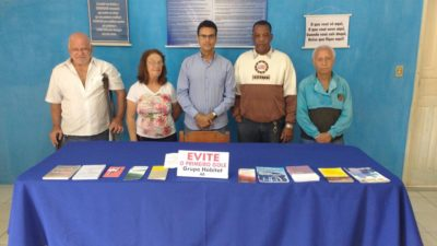 Vereador Juarez da Saúde visita sede do Centro Comunitário do Habitat