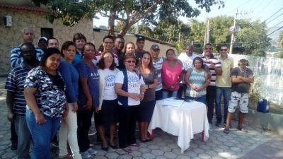 Vereadores participam de eleição da Associação de Moradores do Barros Franco