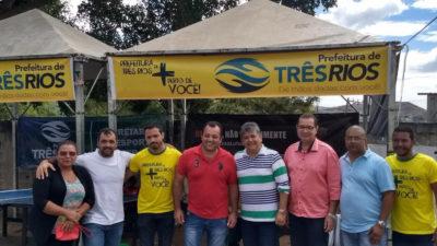 Vereadores participam do Projeto Prefeitura de Três Rios + Perto de Você