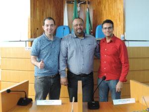 Vereador de Mendes visita Câmara Municipal
