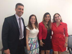Coordenadora do CAC Três Rios se reúne com gerentes do Banco Itaú