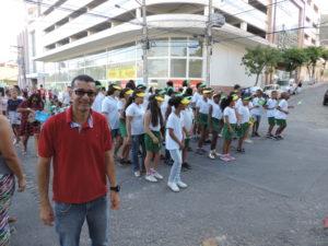 Escola promove momento cívico na Câmara de Vereadores