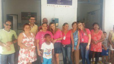 Vereador Nilcélio Sá participa de encerramento da Campanha Outubro Rosa no Caixa D'Água