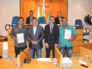 Maestros são homenageados na Câmara de Vereadores de Três Rios