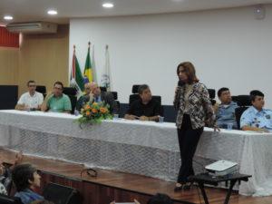 Vereadores participam do debate sobre a luta pelo fim da violência contra a mulher
