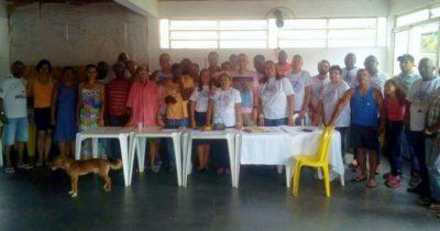 Nilcélio Sá e Juarez de Souza acompanha eleição para Associação de Moradores do Cantagalo