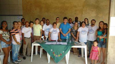 Nilcélio Sá acompanha eleição para Associação de Moradores da Santa Terezinha