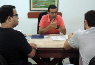 Nilcélio Sá participa de reunião com presidente do Sindicato dos Servidores Públicos de Três Rios