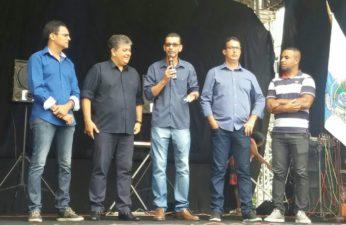 Vereadores participam de solenidade de homenagem aos 79 anos de Três Rios