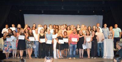 Vereadores participam da I Formatura do curso de gestores de Três Rios