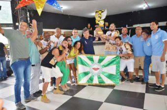 Vereadores acompanham apuração das escolas de samba