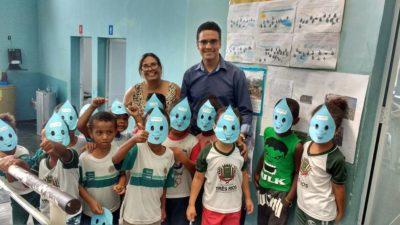 Vereadores participam de atividades no Dia Mundial da Água