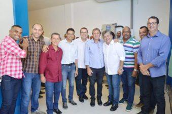 Vereadores participam da inauguração do Detran