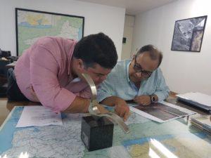 Vereador Clecinho visita DER e cobra melhorias para a Rodovia União Indústria