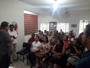 Vereador participa de inauguração do curso de Cuidador de Idosos